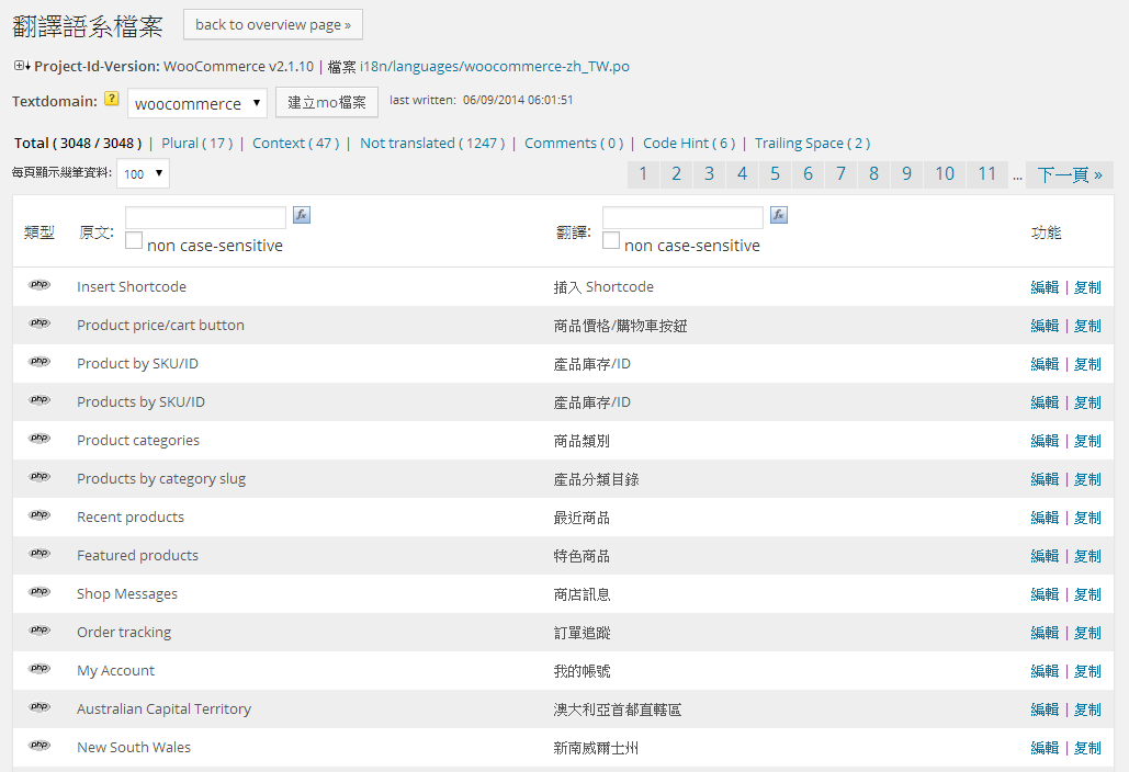 codestyling localization-search